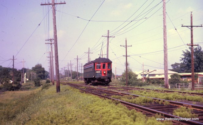 Car 736 on the Mundelein branch.