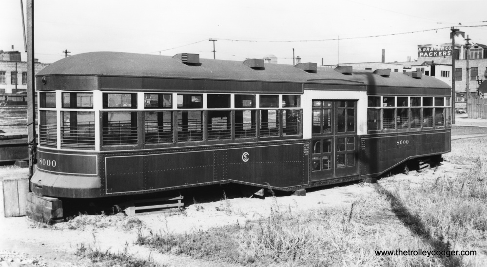 Chicago Streetcars in Black-and-White (5/6)