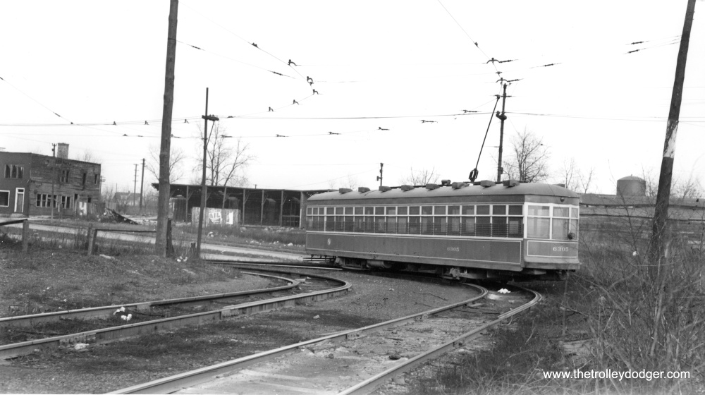Chicago Streetcars in Black-and-White (3/6)