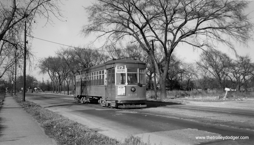 Chicago Streetcars in Black-and-White (2/6)