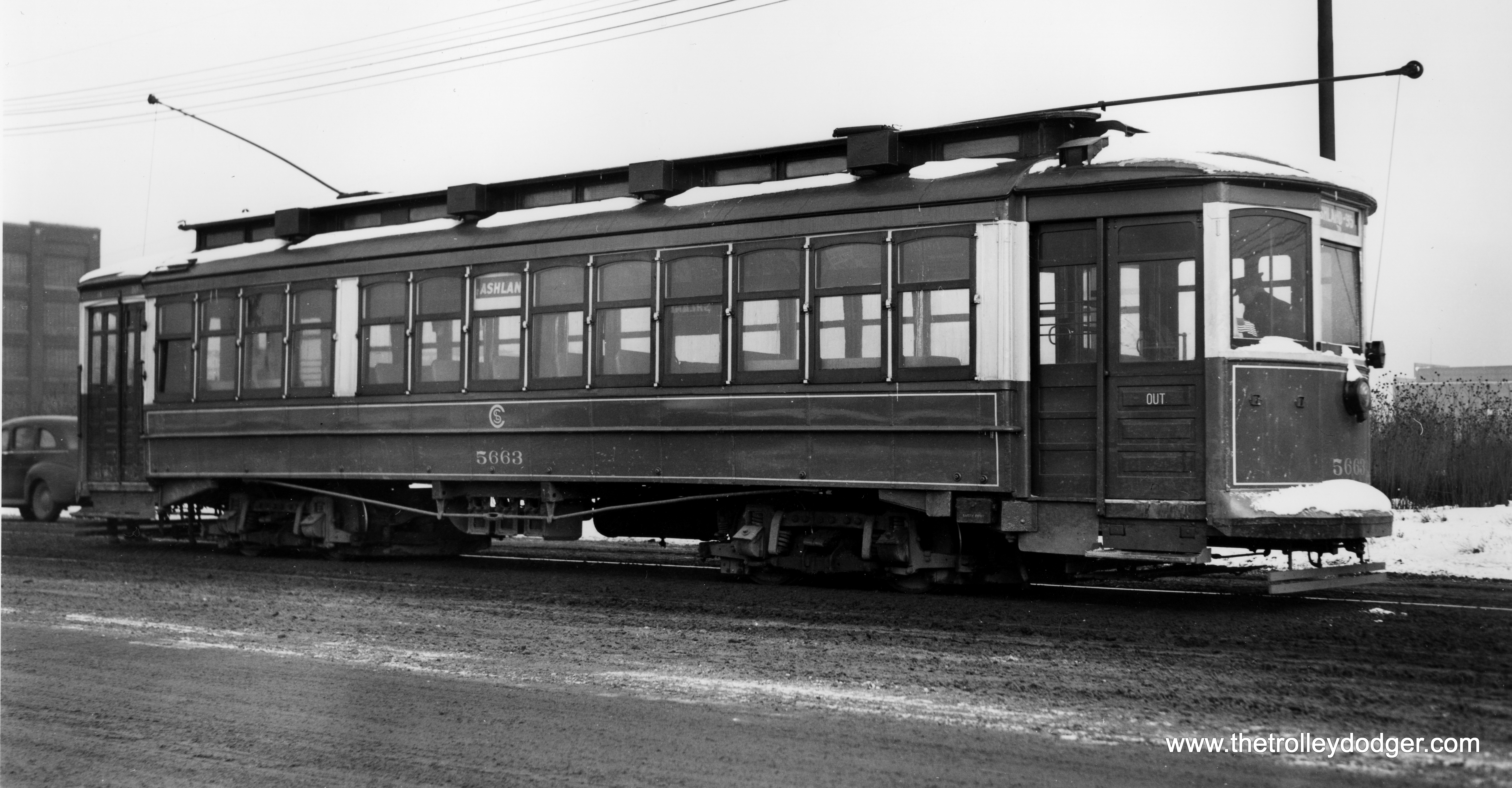Trolley Car: Chicago Streetcars In Black-and-White, Part 2