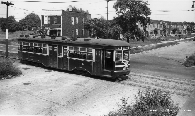 "Whether a ""Sedan,"" a ""Peter Witt,"" or both, car 3359 is southbound on Cottage Grove at 105th. (Robert V. Mehlenbeck Photo)"