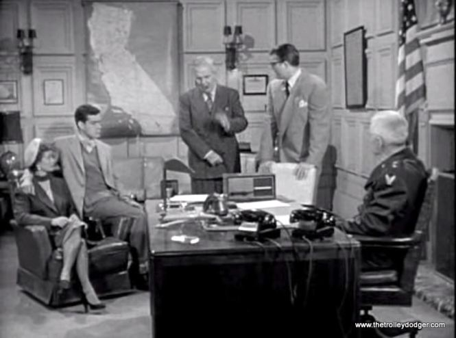"""In the Superman episode """"Jet Ace,"""" aired just before """"Shot in the Dark,"""" the Daily Planet crew are shown at a California air base that is supposed to be in the general vicinity of Metropolis."""