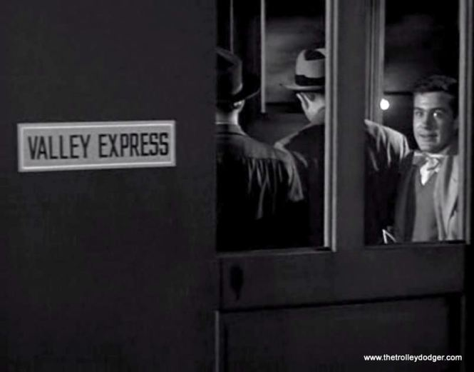 The doors are closing... and the camera is panned to simulate the movement of a subway train.