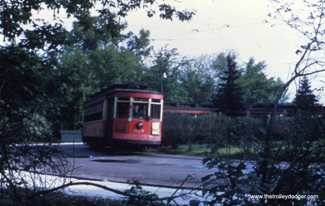 "Andre Kristopans says, ""CTA 527 is in the Milwaukee/Imlay loop."""
