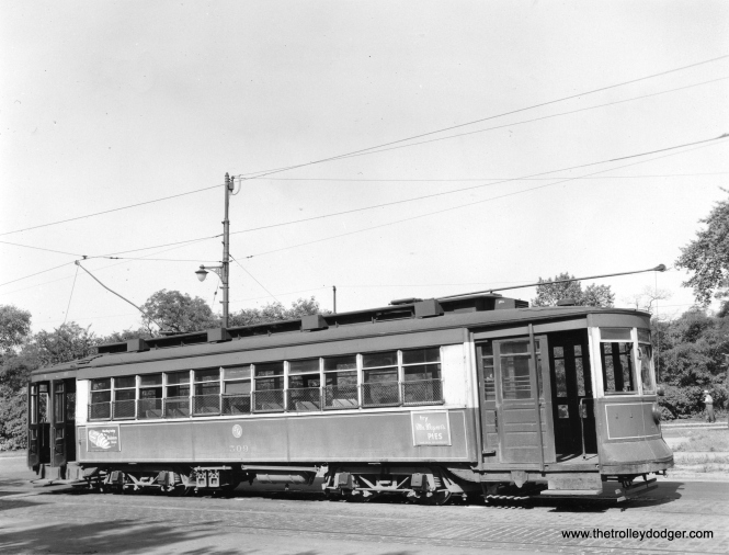 CTA 509 on July 22, 1953.