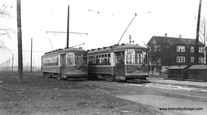 """Bob Lalich says, """"CTA 6249 and 3244 are just north of 93rd St on Stony Island."""""""