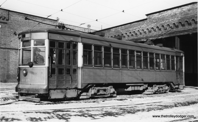 """Andre Kristopans says, """"CSL 6149 is at 77th carhouse, on the Vincennes side."""" (Joe L. Diaz Photo)"""