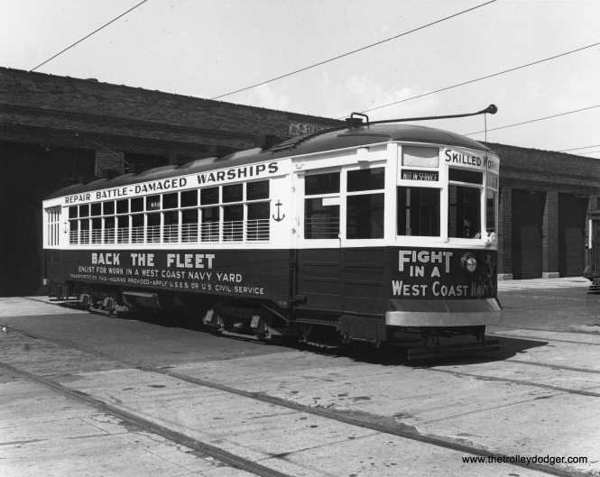 CSL 1740 at West Shops during World War II. (CSL Photo)