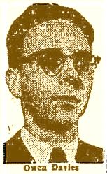 Owen Davies in 1951.
