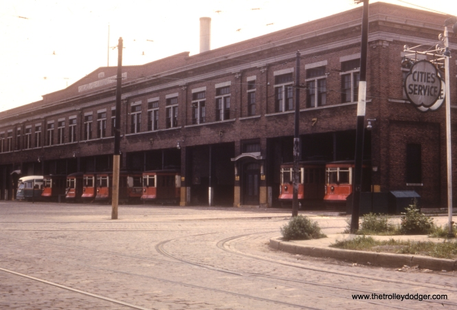 "#7 - Jeff Wien says this is ""69th Street Station (not 77th, PCC ran on Western, Red Cars on Ashland)."""