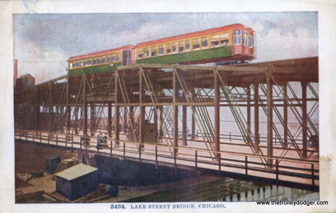 Before the invention of Kodachrome in the mid-1930s, sometimes the only way to tell what color some cars were painted is by looking at old postcards such as this one, showing the Lake Street