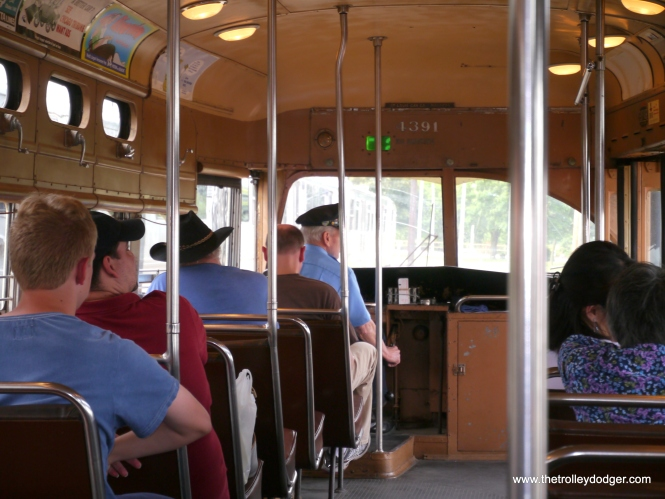 Interior of the 4391.