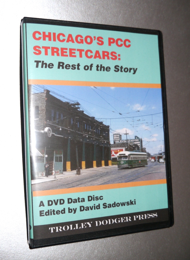 Our new E-book Chicago's PCC Streetcars - The Rest of the Story ships this week.