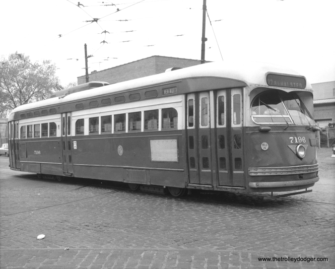 CTA 7196 in Wentworth service, circa 1957-58.