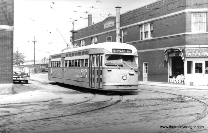 CTA 4345 on August 1, 1953.