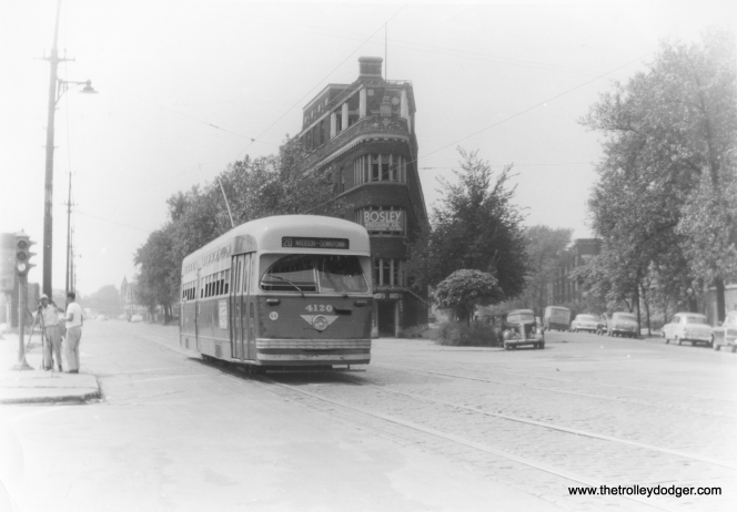 CSL 4120 eastbound on 5th Avenue at Independence Boulevard. (Edward Frank Jr. Photo)