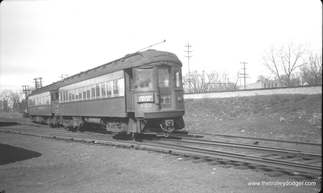 #19 - CA&E 422 at Wheaton in February 1952.