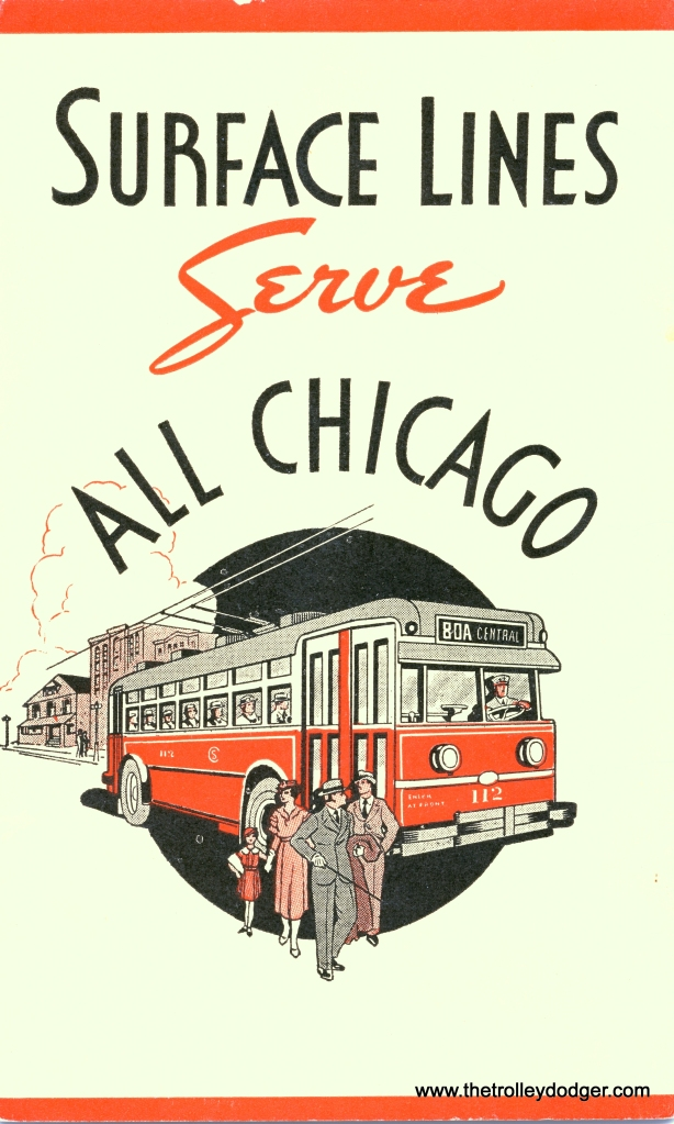A CSL trolley coach, from a 1935 brochure.