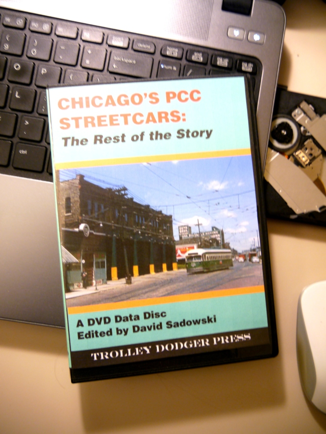 All of the photos in today's post are being added to our E-book Chicago's PCC Streetcars: The Rest of the Story.