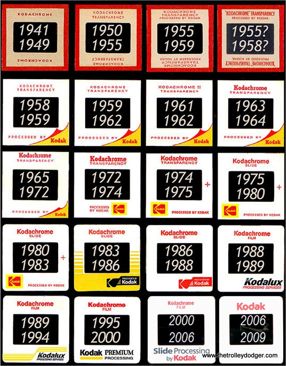 Dating Kodachrome bilder