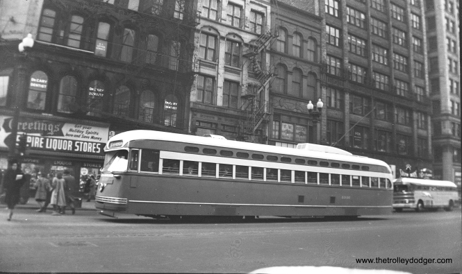 CTA 4346, built by Pullman-Standard, on route 36 Broadway-State.