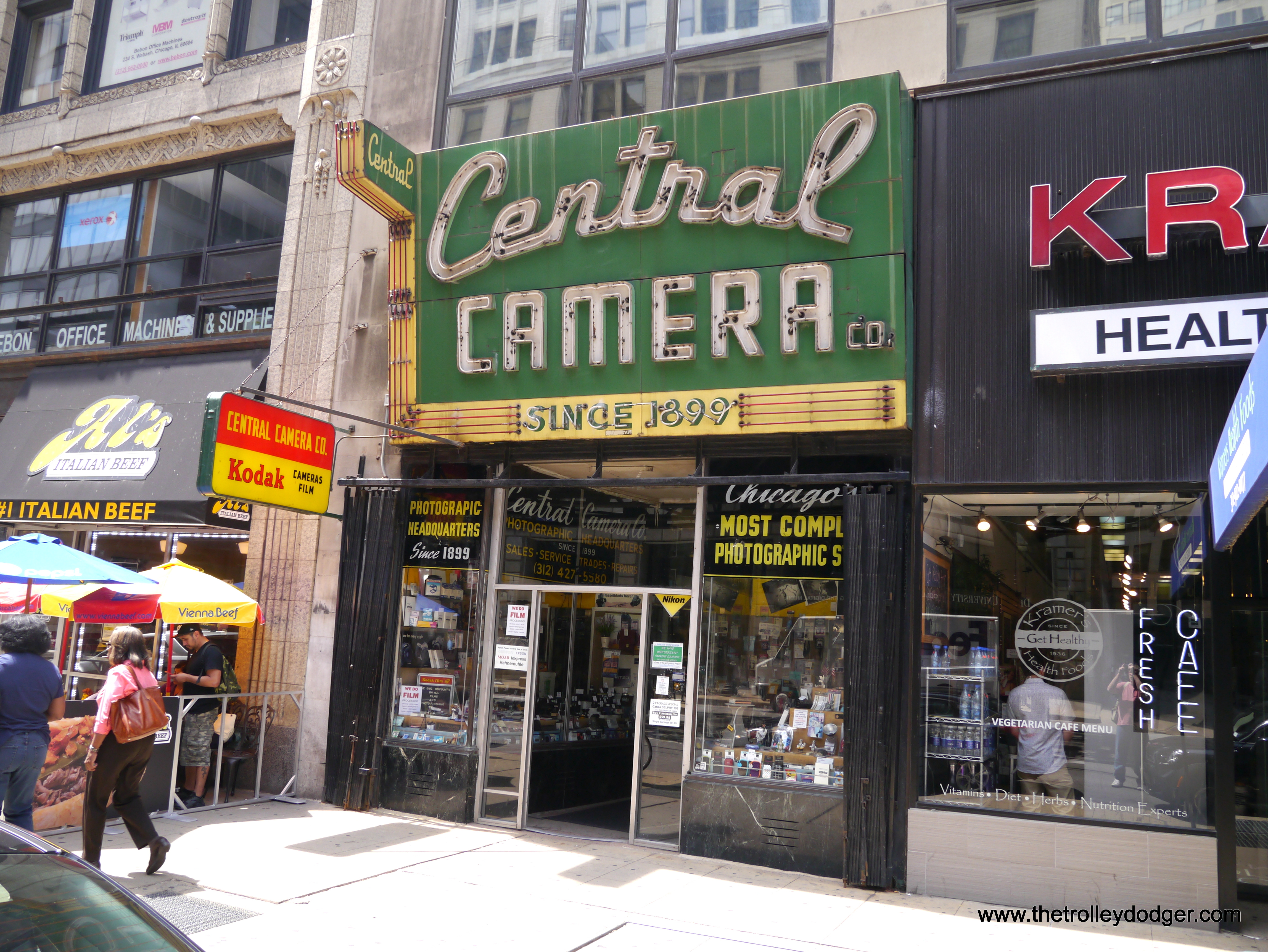 Railfans, Their Cameras, and Camera Stores – The Trolley Dodger