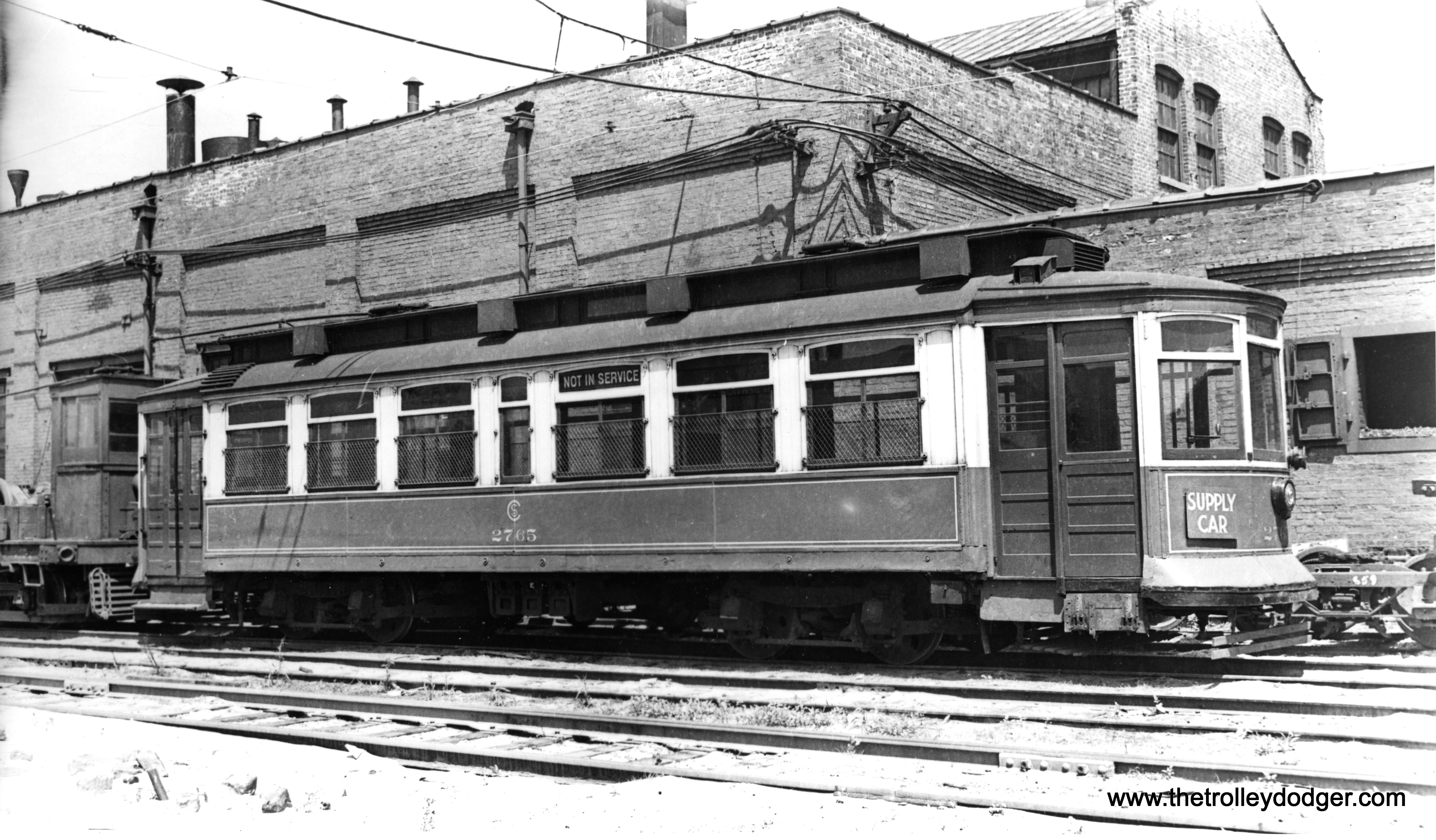 Sprinkler Used Cars >> Chicago Surface Lines Work Cars – Part 1 – The Trolley Dodger