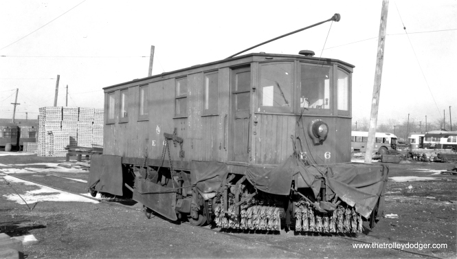Plow E6 on January 9, 1954. (Gordon E. Lloyd Photo)