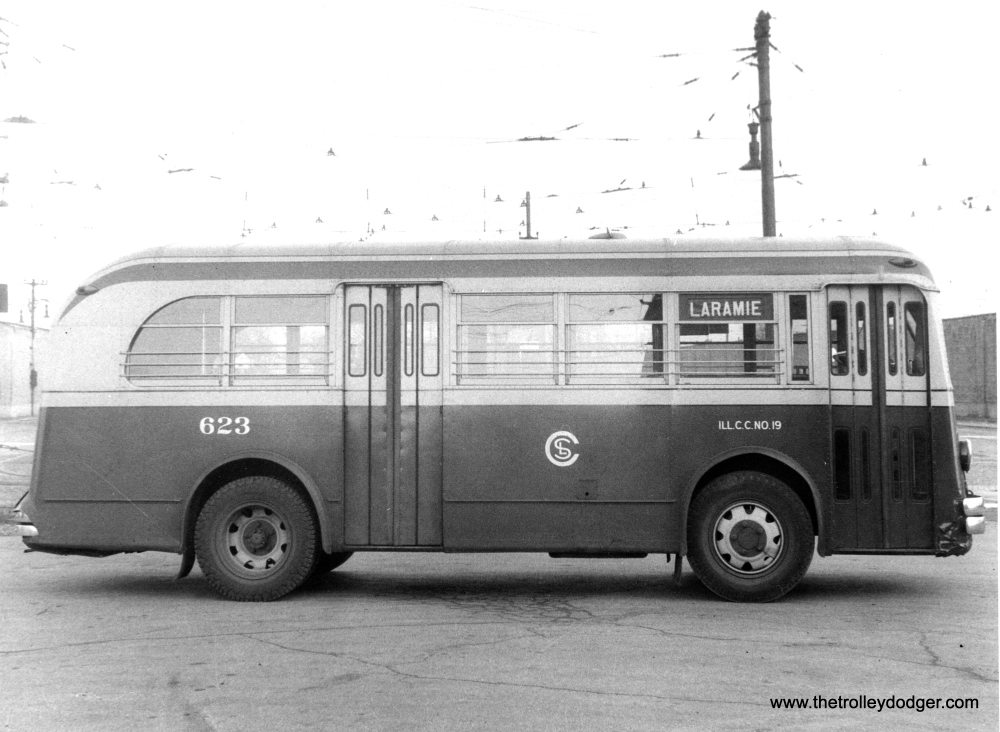 Historic Chicago Buses (4/6)