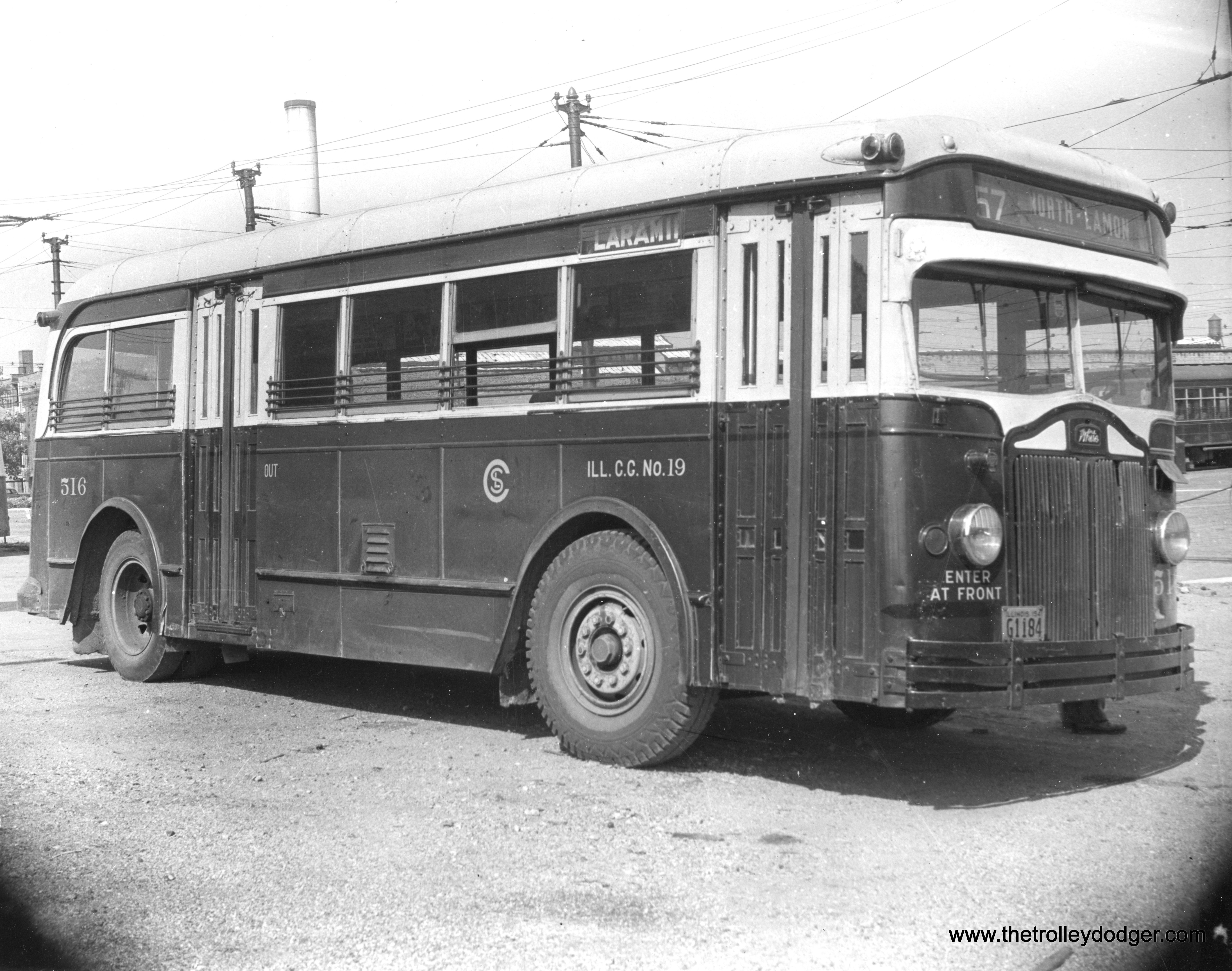 Historic Chicago Buses The Trolley Dodger