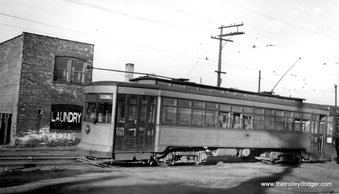 Hammond, Whiting and East Chicago car 74.