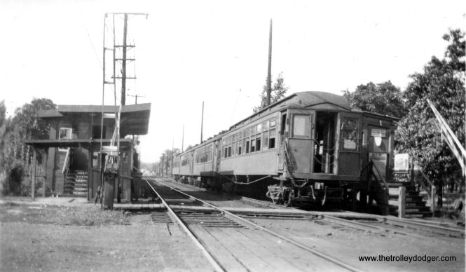 The location of this photo would be hard to identify, if not for the presence of overhead wire instead of third rail. That makes it Isabella on the Evanston line. This station closed on July 16, 1973.
