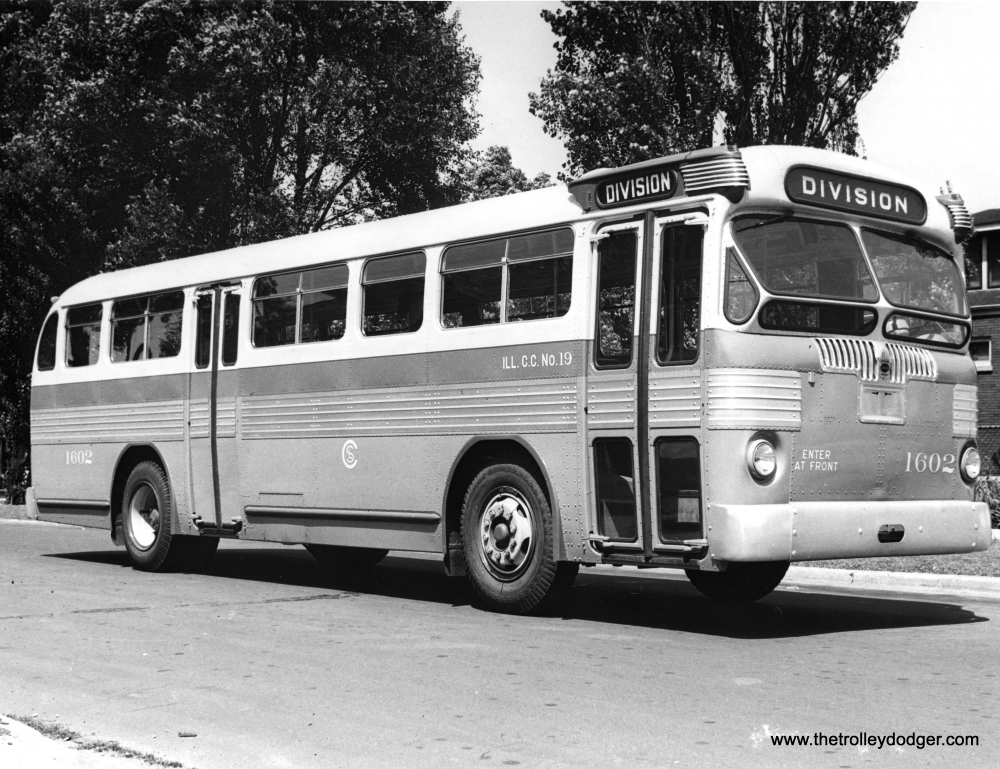 More Historic Chicago Buses (3/6)