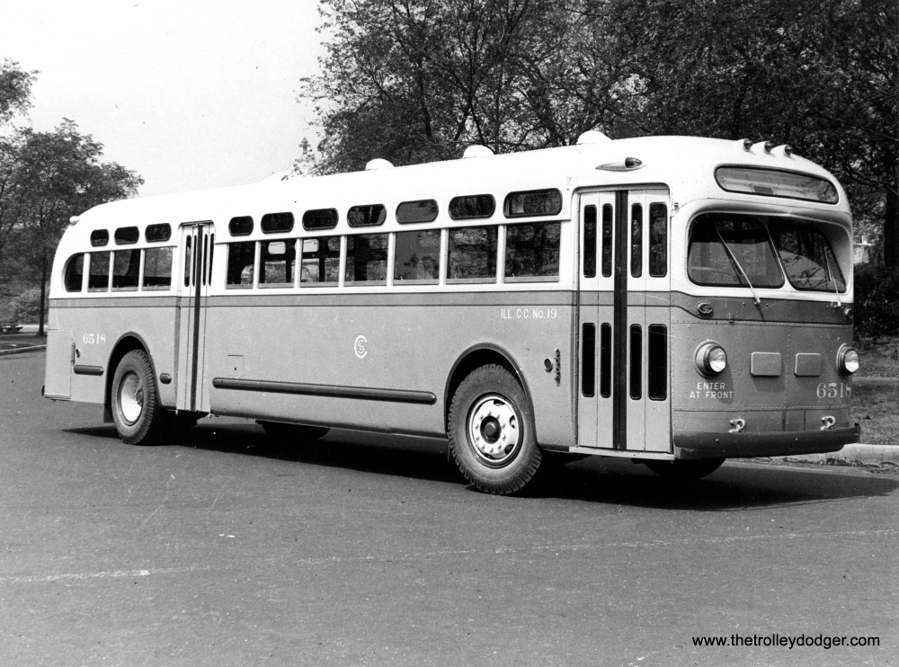 More Historic Chicago Buses (4/6)