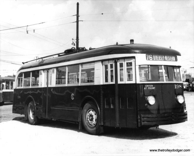 CSL trolley bus 198.