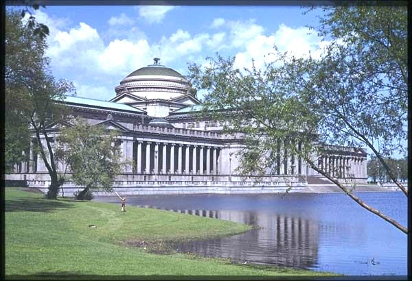 Chicago's Museum of Science and Industry in the 1950s. (Charles W. Cushman Collection, University Archives, at Indiana University, Bloomington.)