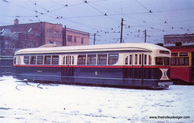 CSL 7001 as it looked after being repainted circa 1941.