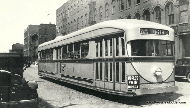 CSL 7001 in World's Fair service in 1934. (George Kanary Collection)
