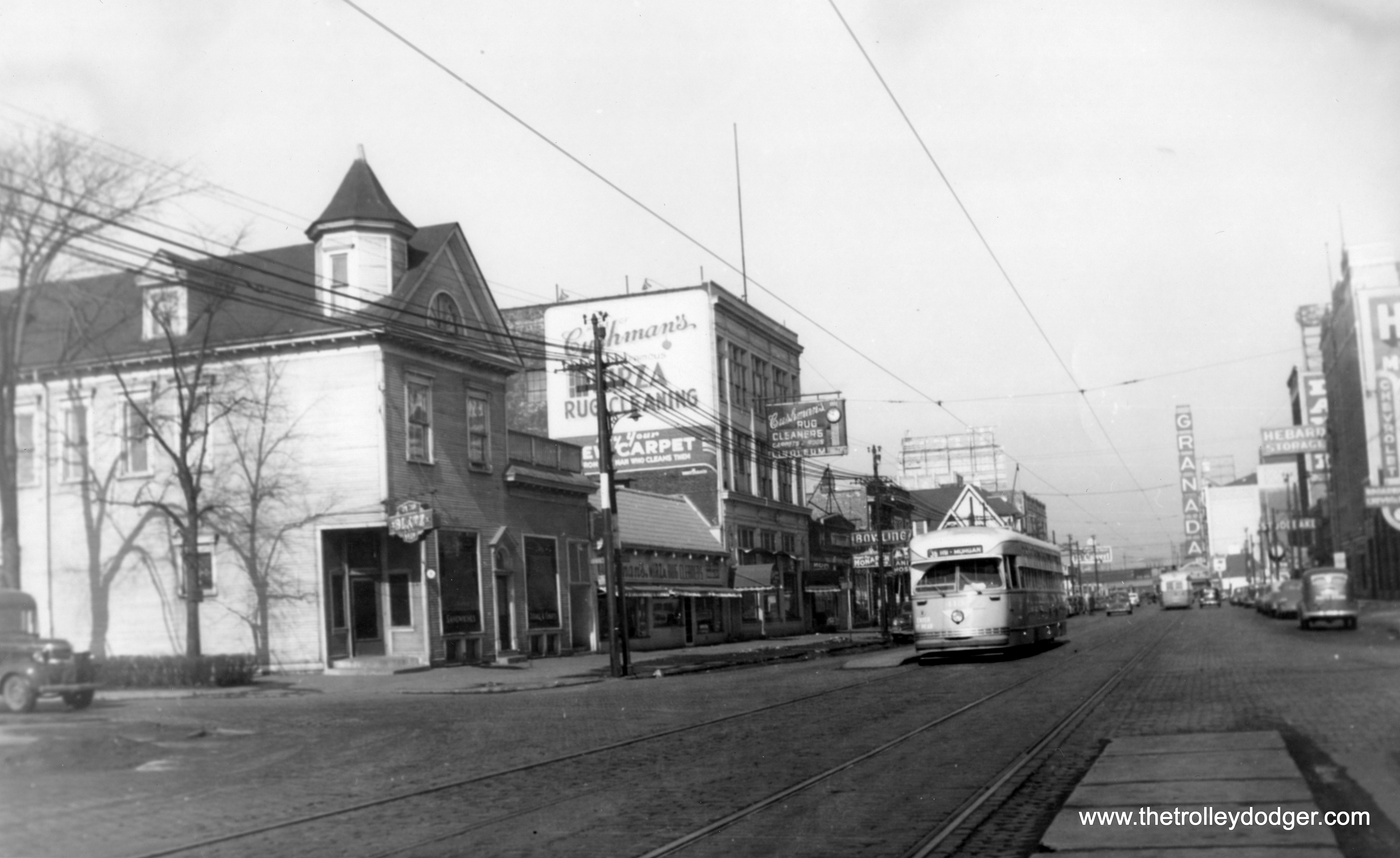 More chicago pcc photos part three the trolley dodger for Garage louis vincennes