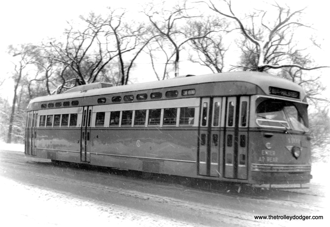 4109 southbound on Clark and Lincoln Park. (Edward Frank, Jr. Photo)