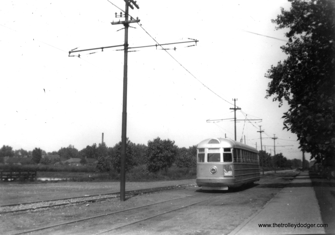 CSL 4001 may be on non-revenue trackage at the north end of South Shops. (Edward Frank, Jr. Photo)