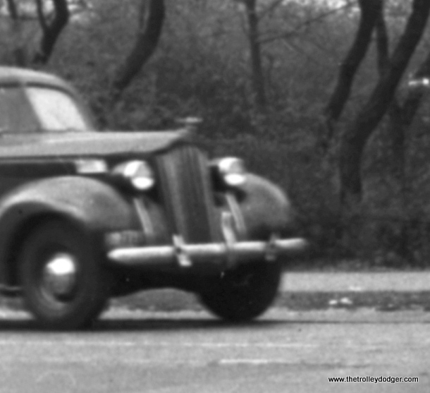A close-up of the preceding photo, showing what appears to be a 1940 Packard.
