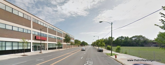 State between Pershing and 40th as it appears today. The building at left is the Dawson Technical Institute, part of the City Colleges of Chicago. It was established in 1968.