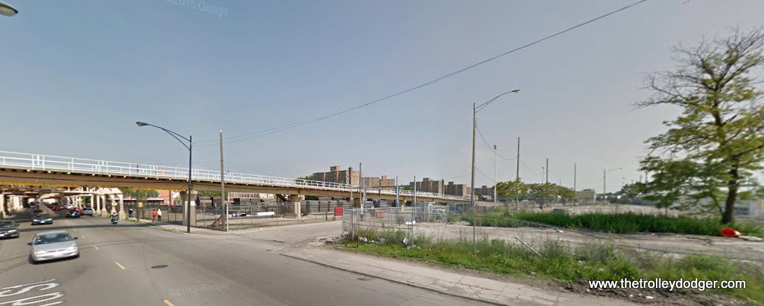 A 2014 View Of The Ramp Leading Down To CTAu0027s 63rd Street Lower Yard. The