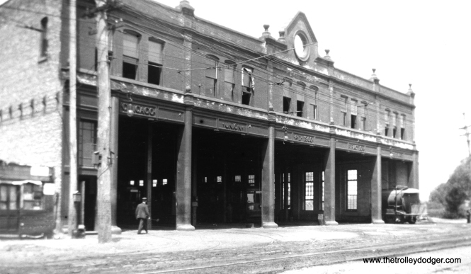 Devon Station at Clark and Schreiber. Officially opened for business on April 1, 1901 by the Chicago Union Traction Company, predecessor to the Chicago Railways Company.