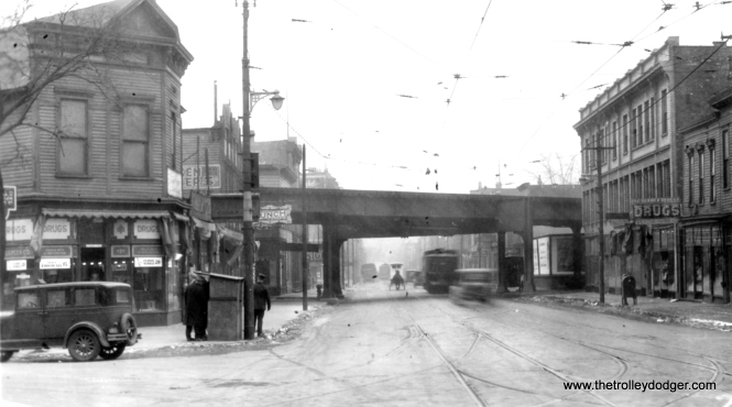 Lincoln Avenue just south of Sheffield on January 8, 1929.