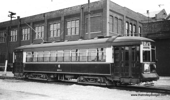 CSL Big Pullman 204 signed for route 22 - Clark-Wentworth. (Railway Negative Exchange Photo)