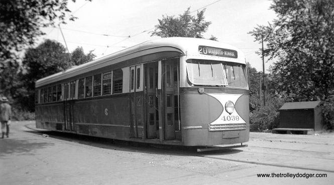 CSL 4039 at Madison and Austin on June 30, 1946. (Barney Neuburger Collection, Courtesy of John F. Bromley)