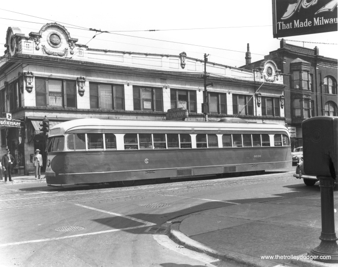 CSL 4036 on Madison Street. (CSL Photo)